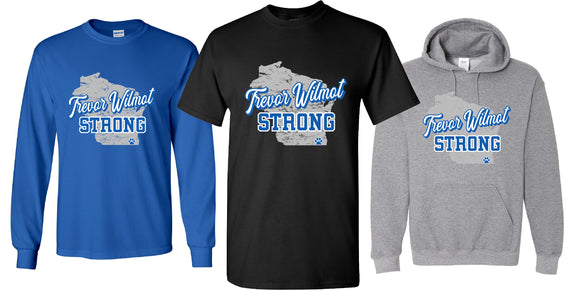 Trevor Wilmot Strong fundraiser - order by 7/3 by 10 am
