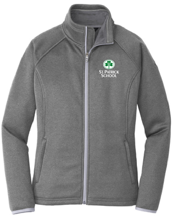 St. Patrick school embroidered ladies jacket