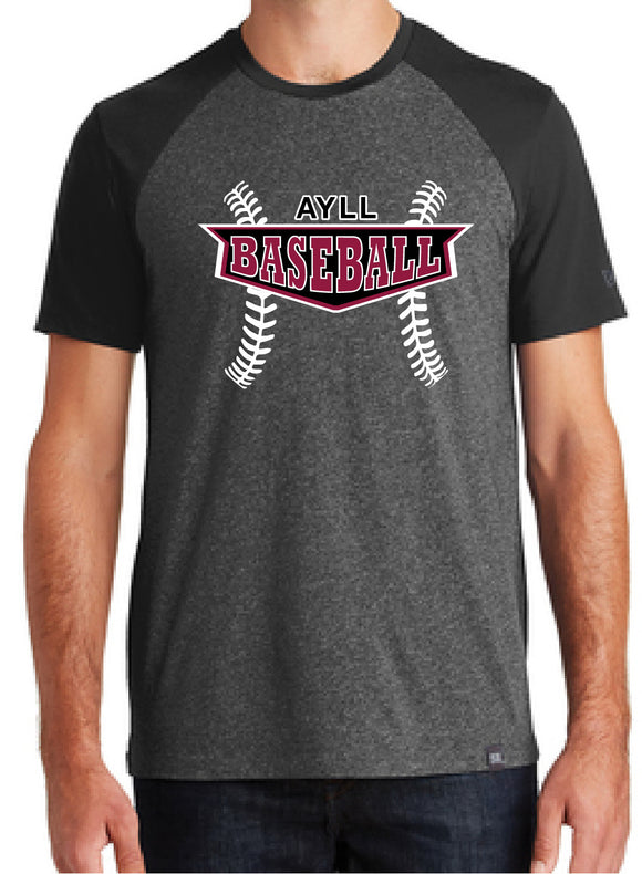 AYLL baseball short sleeve