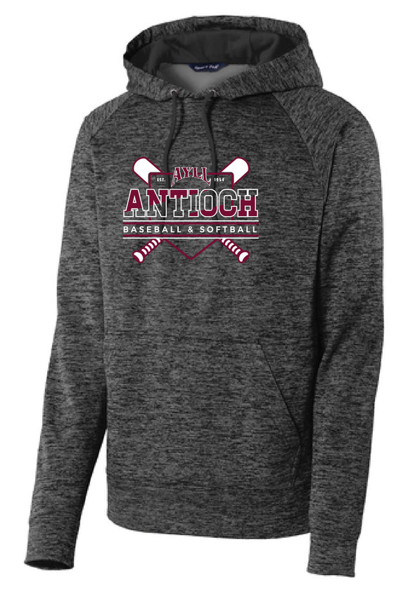 AYLL heather performance hoodie