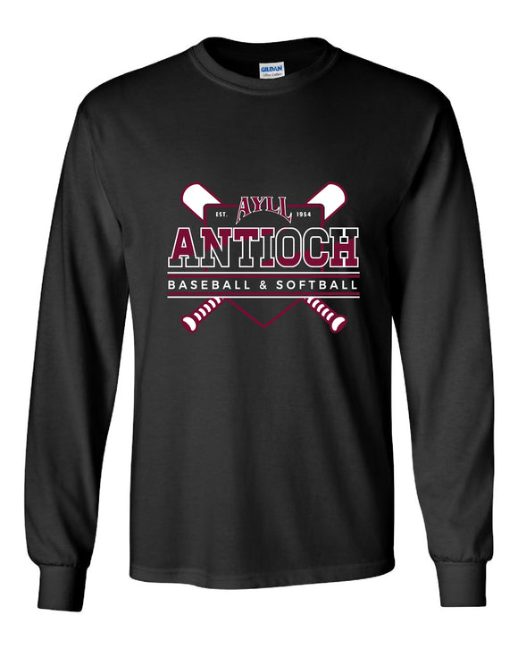 AYLL long sleeve cotton t-shirt