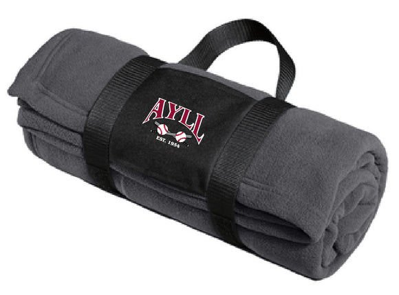 AYLL fleece blanket
