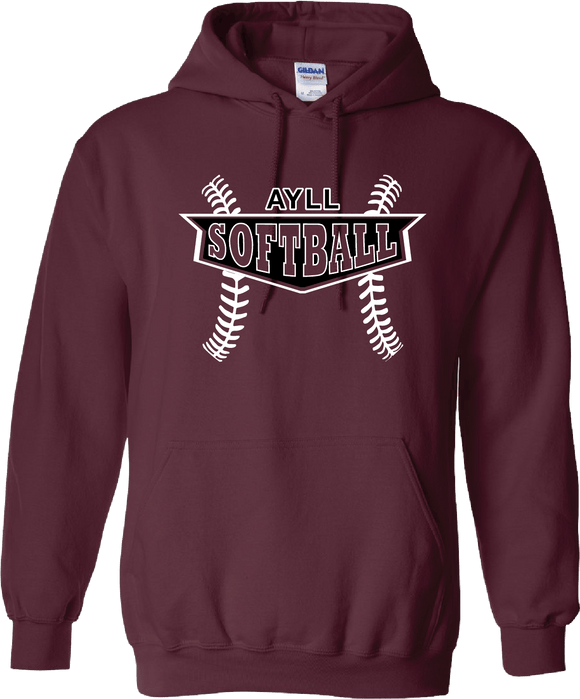 AYLL Softball Hooded sweatshirt