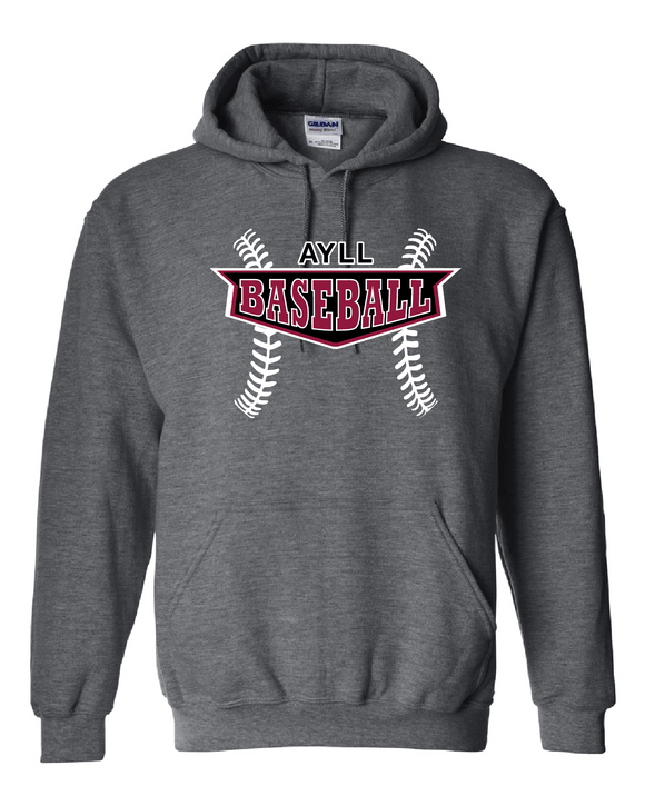 AYLL Baseball Hooded sweatshirt
