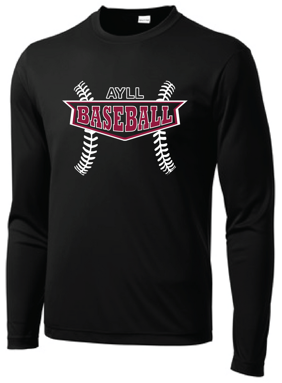 AYLL Baseball performance long sleeve