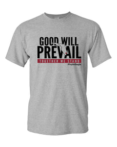 Good Will Prevail short sleeve tee