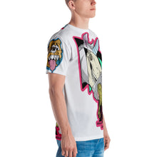WHG vs Bloodshed Men's Sublimation T-shirt (White)