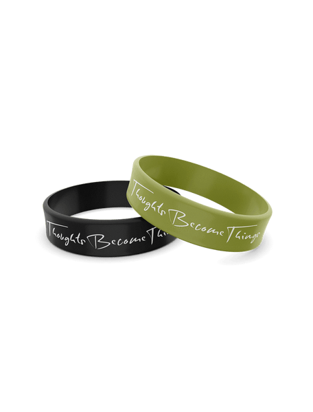 Thoughts Become Things - Wristbands (2-Pack)