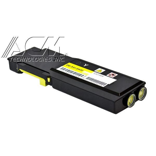 This remanufactured cartridge fits Dell 331-8430 (MD8G4) toner cartridge, 9,000 pages Extra High Yield Yellow