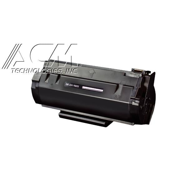 New compatible Dell 331-9805 (M11XH) toner cartridge, 8,500 pages High Yield Black