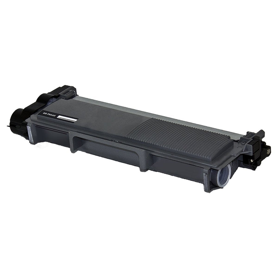 New compatible Brother TN660 toner cartridge, 2,600 page yield Black