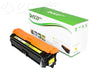 This remanufactured cartridge fits Hewlett Packard 307A (CE742A) toner cartridge, 7,300 page yield Yellow