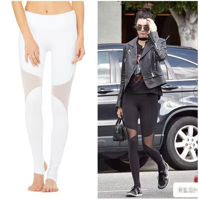 Women Sport Fitness Hollow out Leggings