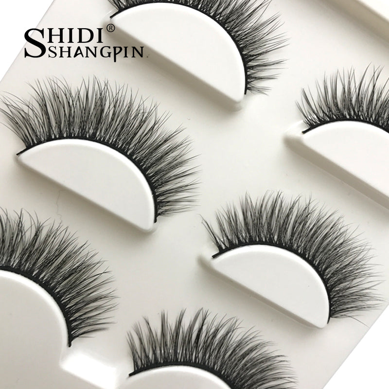 New 3 pairs 3D Mink lashes