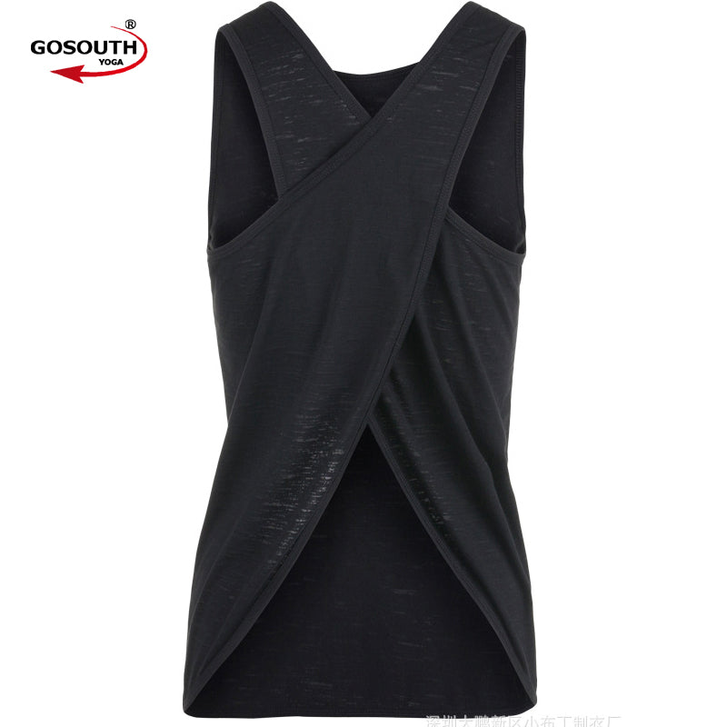 Sexy Women Tank Top  Quick Dry Loose Fitness