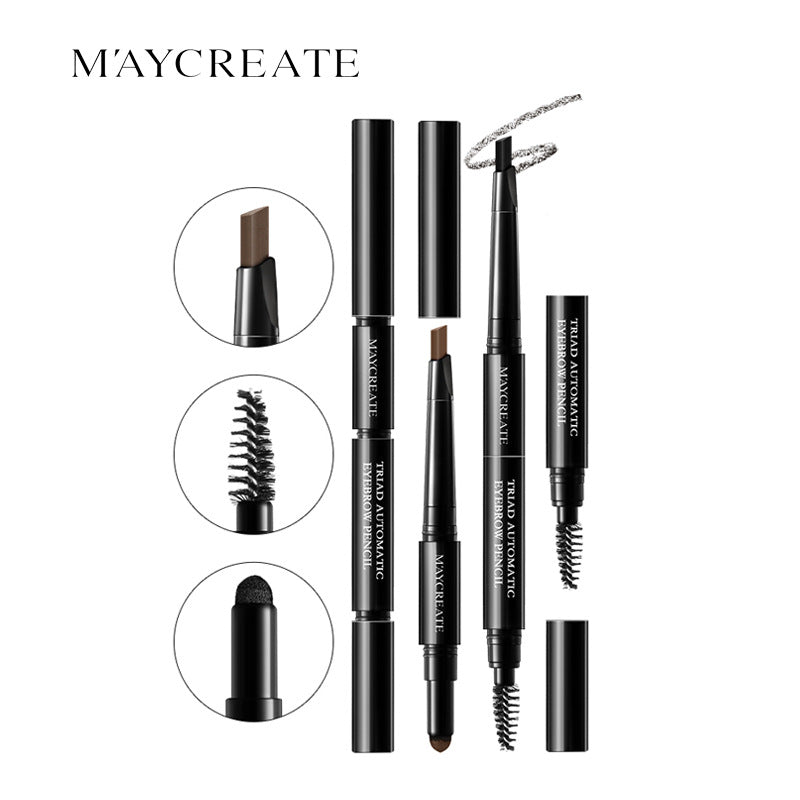 New Multi-functional Waterproof Makeup Eyebrow Pencil