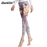 Women's Stretch Printed Yoga Sports Leggings YH32