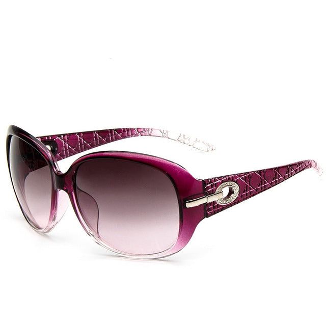 Luxury Driving Ladies Sunglasses color/purple