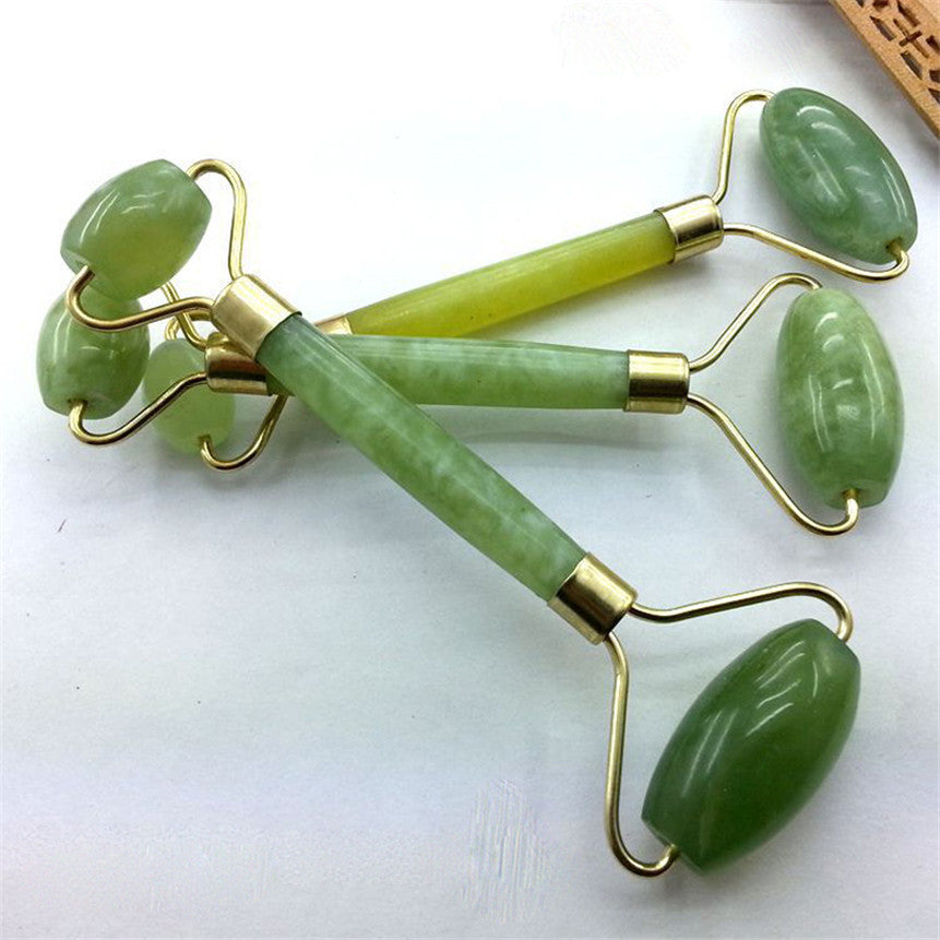 Double Head Jade Facial Massage Roller