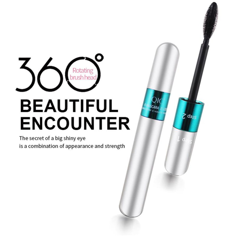 Quick Dry 4D Silk Fiber Waterproof Lengthening Mascara