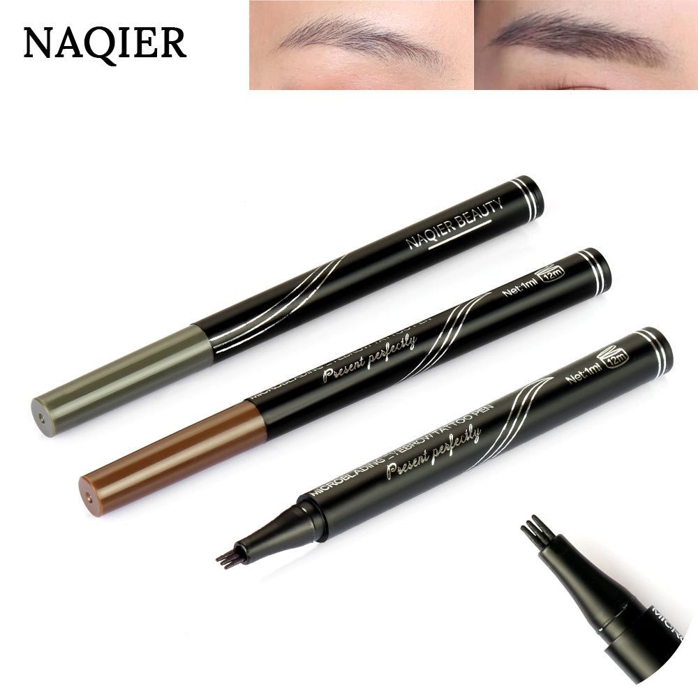 Microblading Eyebrow Waterproof Tattoo Pen 3 colors