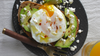Kosterina's Avocado Toast with a Poached Egg & Crumbled Feta