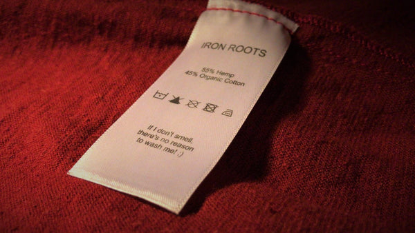 Iron Roots Carelabel Hemp
