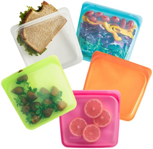 STASHER SANDWICH BAG VARIETY