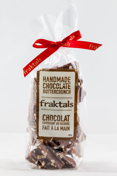 Fraktals Belgian Milk Chocolate ButterCrunch