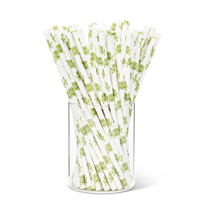 100 Pieces Paper Straws