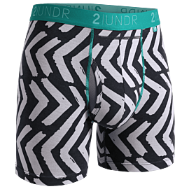 "2UNDR Swing Shift - Tiki - 6"" Boxer Brief"