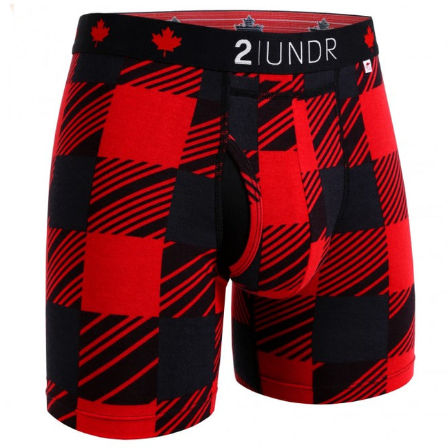 "2UNDR Swing Shift - O' Canada- 6"" Boxer Brief"
