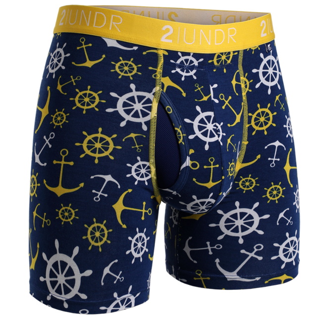"2UNDR Swing Shift - Wanchors - 6"" Boxer Brief"
