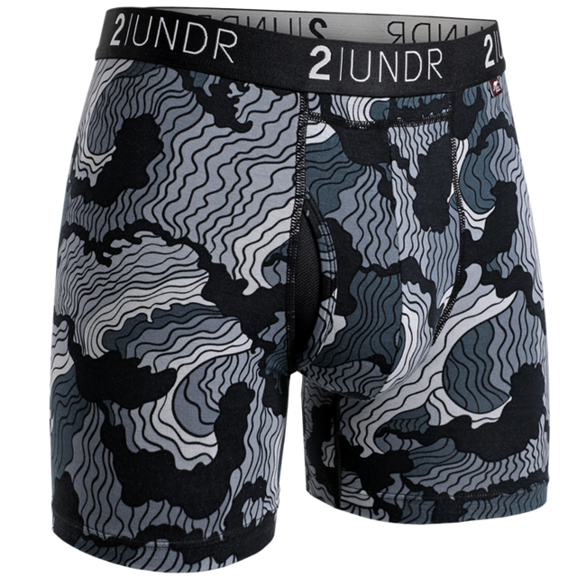 "2UNDR Swing Shift - Tsunami - 6"" Boxer Brief"
