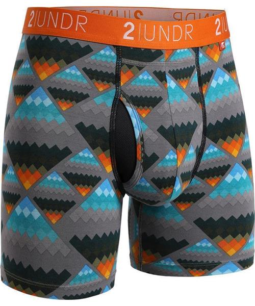 "2UNDR Swing Shift - Aztec - 6"" Boxer Brief"