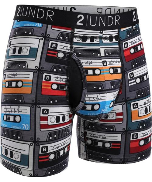 "2UNDR Swing Shift - Throwback - 6"" Boxer Brief"