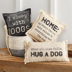 Washed Canvas Dog Pillow