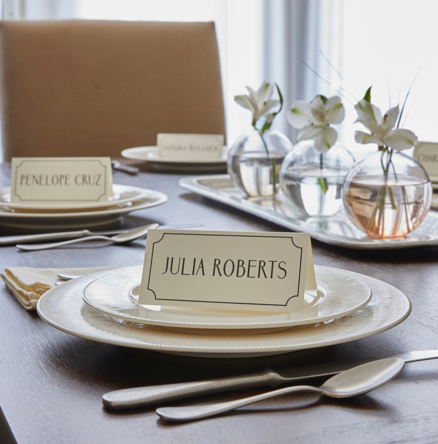MALE ACTOR PLACECARDS