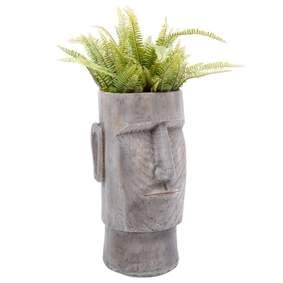 Lithic Island Face Planter - 24 Inch Height