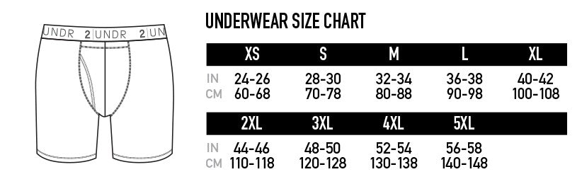 "2UNDR Swing Shift - 6"" Boxer Brief 2-Pack - Grey/Black 
