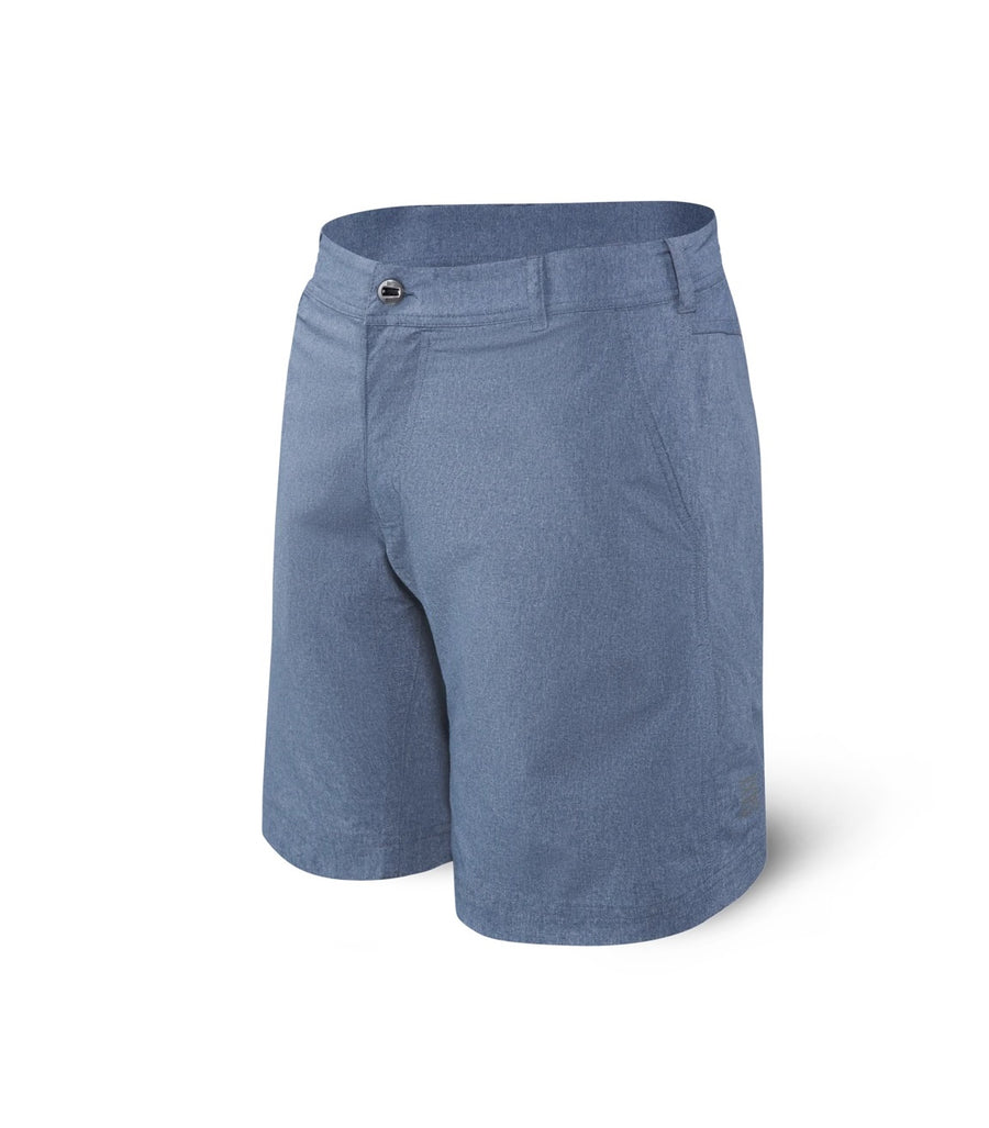 New Frontier Saxx Shorts - Navy Heather