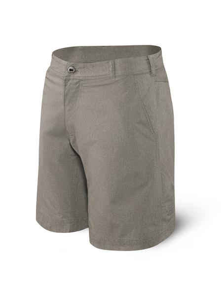 New Frontier Saxx Shorts - Clay Heather