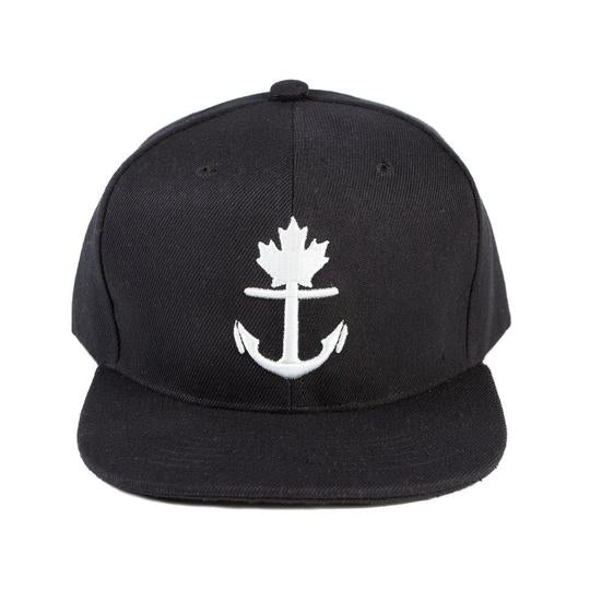 Classic Anchor Snapback Hat