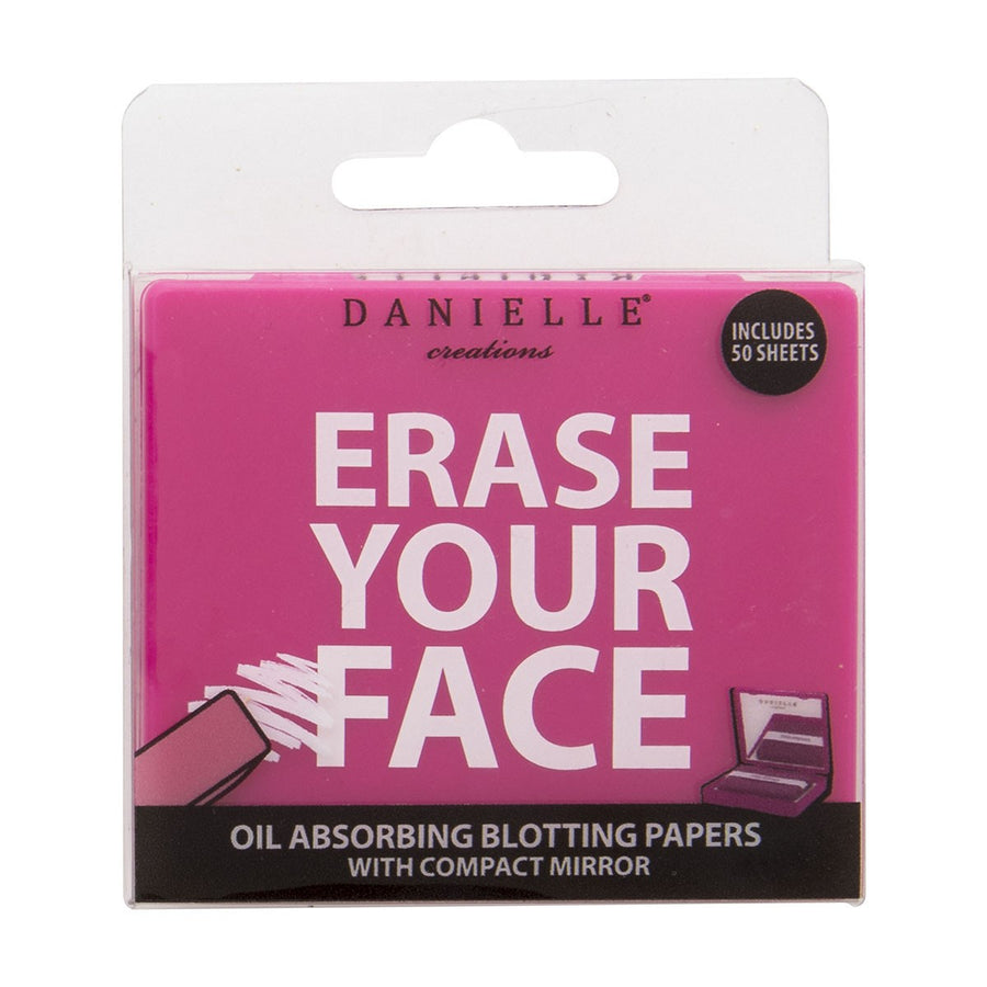 Cosmetic Blotting Papers - 50 Sheets - Pink
