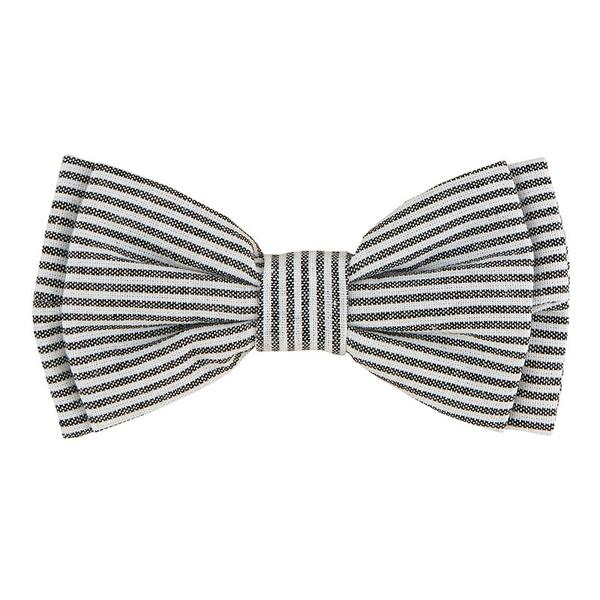 Grey Stripe - Pet Bow Ties