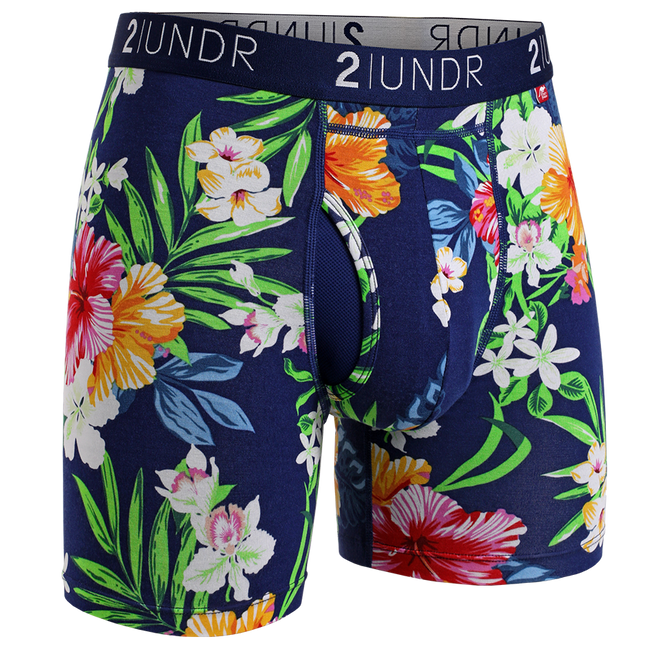 "2UNDR Swing Shift - Tahiti- 6"" Boxer Brief"
