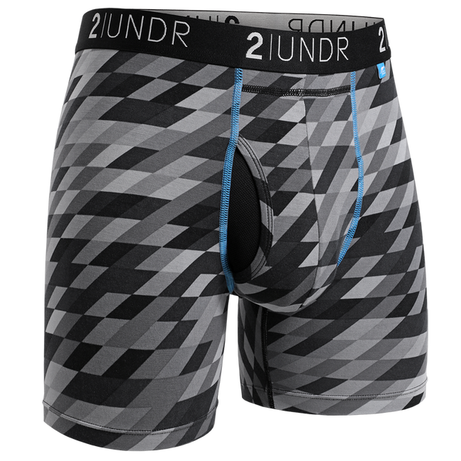 "2UNDR Swing Shift - Ore Geode- 6"" Boxer Brief"