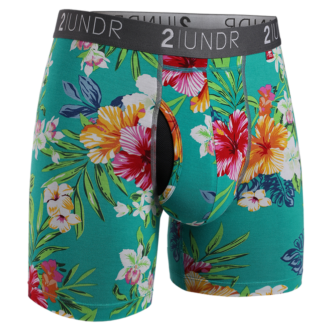 "2UNDR Swing Shift - Turks - 6"" Boxer Brief"