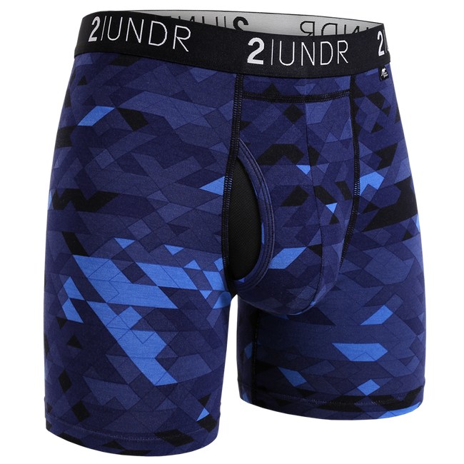 "2UNDR Swing Shift - Geode - 6"" Boxer Brief"