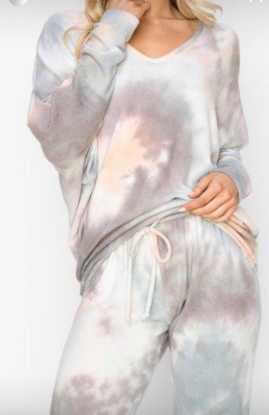 Loungewear Set - Sand / Peach / Sage
